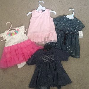 Other - Baby girl dresses . Size 6 month